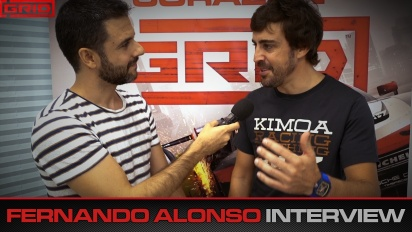 Grid - Fernando Alonso Interview