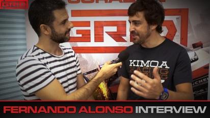Grid - Fernando Alonso Interview