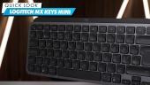 Logitech MX Keys Mini Wireless Keyboard - Quick Look