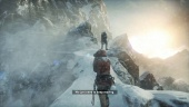 Rise of the Tomb Raider - Standard PS4 Gameplay
