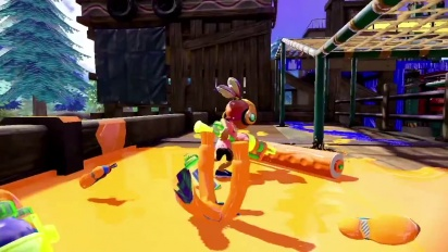Splatoon - Single Player Trailer