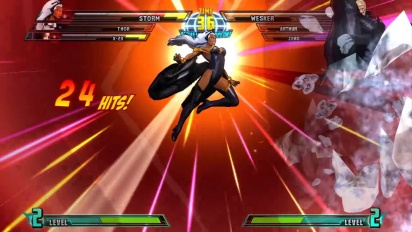 Marvel vs Capcom 3: Fate of Two Worlds - Storm Gameplay