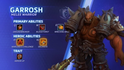 Heroes of the Storm - Garrosh Hellscream Hightlight
