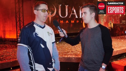 DreamHack Winter - Quake Champions: DaHanG Interview