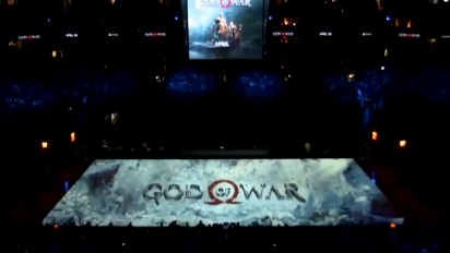 God Of War trailer during an NBA game