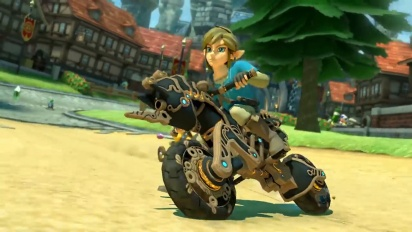 Mario Kart 8 Deluxe - Breath of the Wild Update