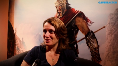 Assassin's Creed Odyssey - Lydia Andrew Interview