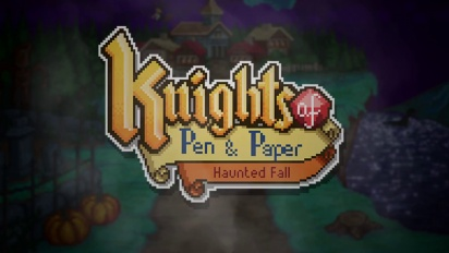 Knights of Pen and Paper - Haunted Fall - Release Trailer