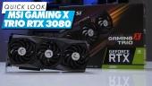 MSI GeForce RTX 3080 Gaming X Trio - Quick Look