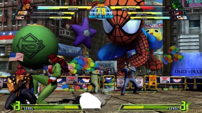 Marvel vs Capcom 3: Fate of Two Worlds - Akuma Trailer