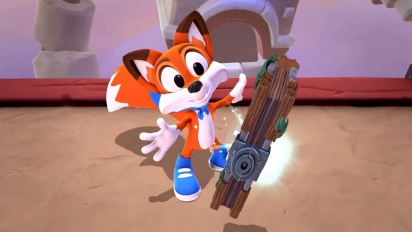 New Super Lucky's Tale - Before & After Trailer