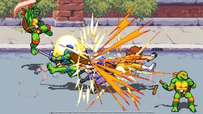 Teenage Mutant Ninja Turtles: Shredder's Revenge - Gamescom 2021 Trailer