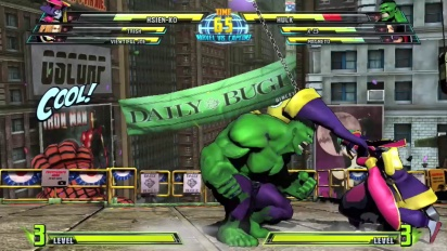 Marvel vs Capcom 3: Fate of Two Worlds - Hsien-Ko Trailer