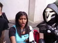 a quick round up of the day so far cosplaying as symmetra