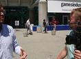 Arrival at E3 gates