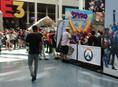 Hanging with Crash and Spyro E3